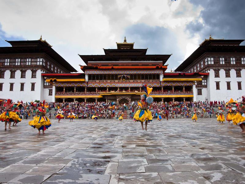 Nepal Bhutan abridge tour