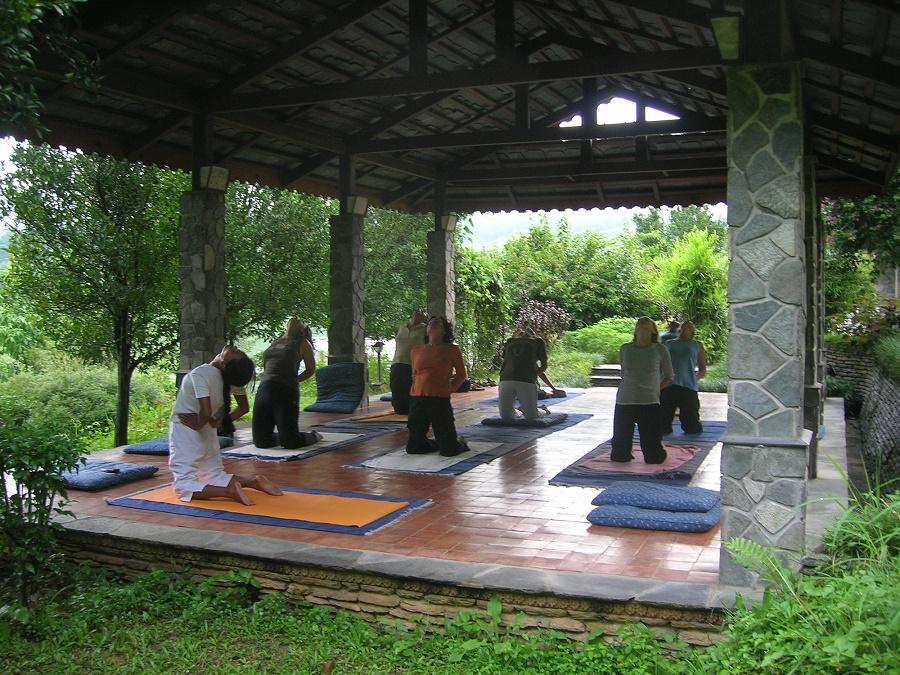 Trekking with yoga Retreat