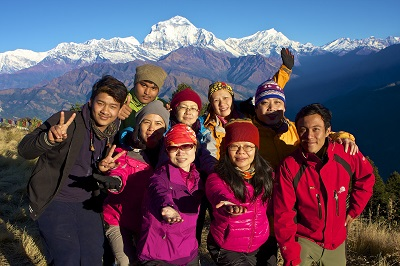 Annapurna combination trek