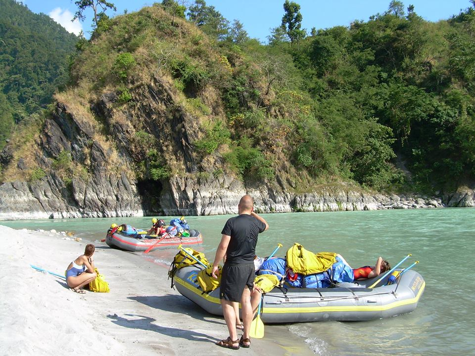 River rafting holiday in Nepal