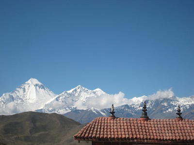 the charisma of Jomsom and the pious milieu of Muktinath