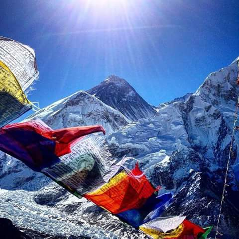 Gokyo Chola Pass in Everest Trekking
