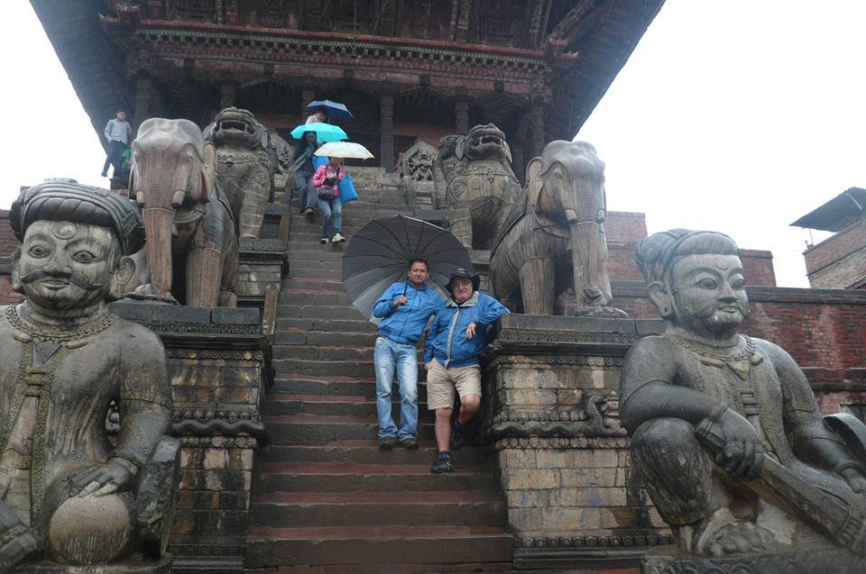 Devotees' route in Bhaktapur