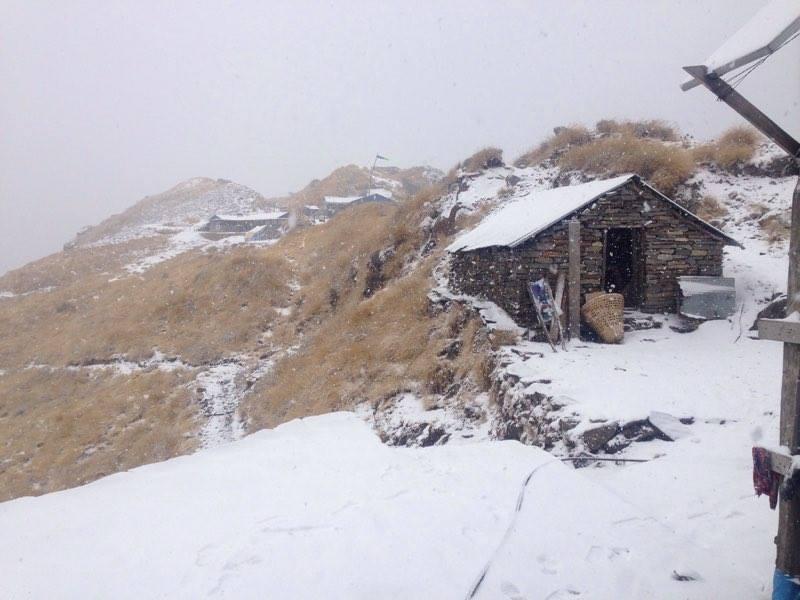 Trekking in Mardi Himal